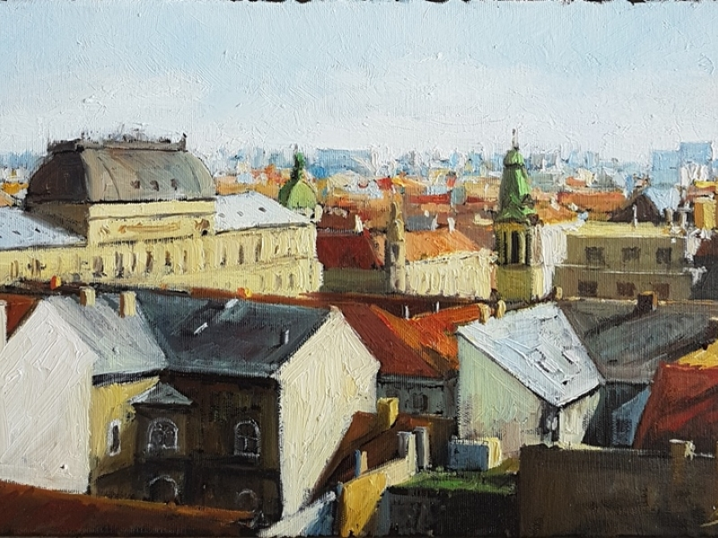 192 - Roofs of Zagreb