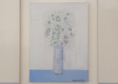 Flowers, Medvešek Damir, oil on canvas