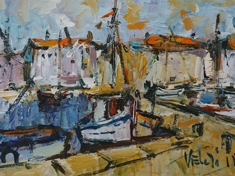 Trawlers on the dock 1544