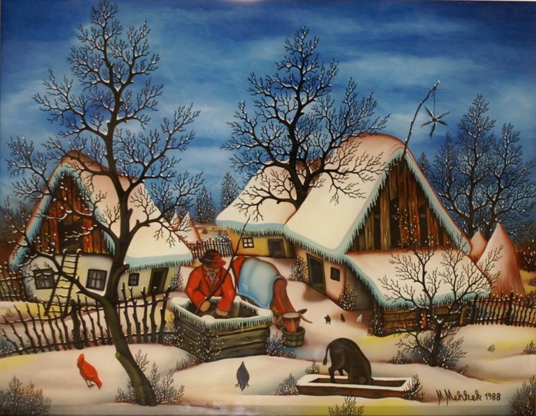 Martin Mehkek, Winter, 1988